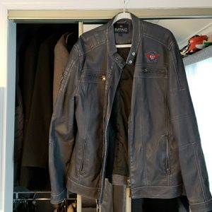 David Bitton Jarley Vegan Leather Jacket